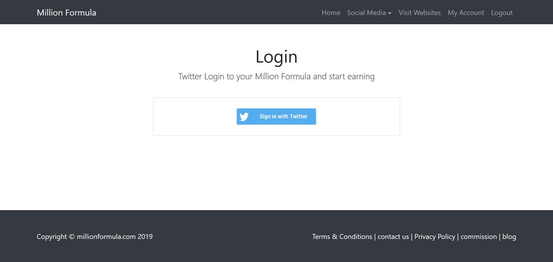 twitter login Earn Money Online