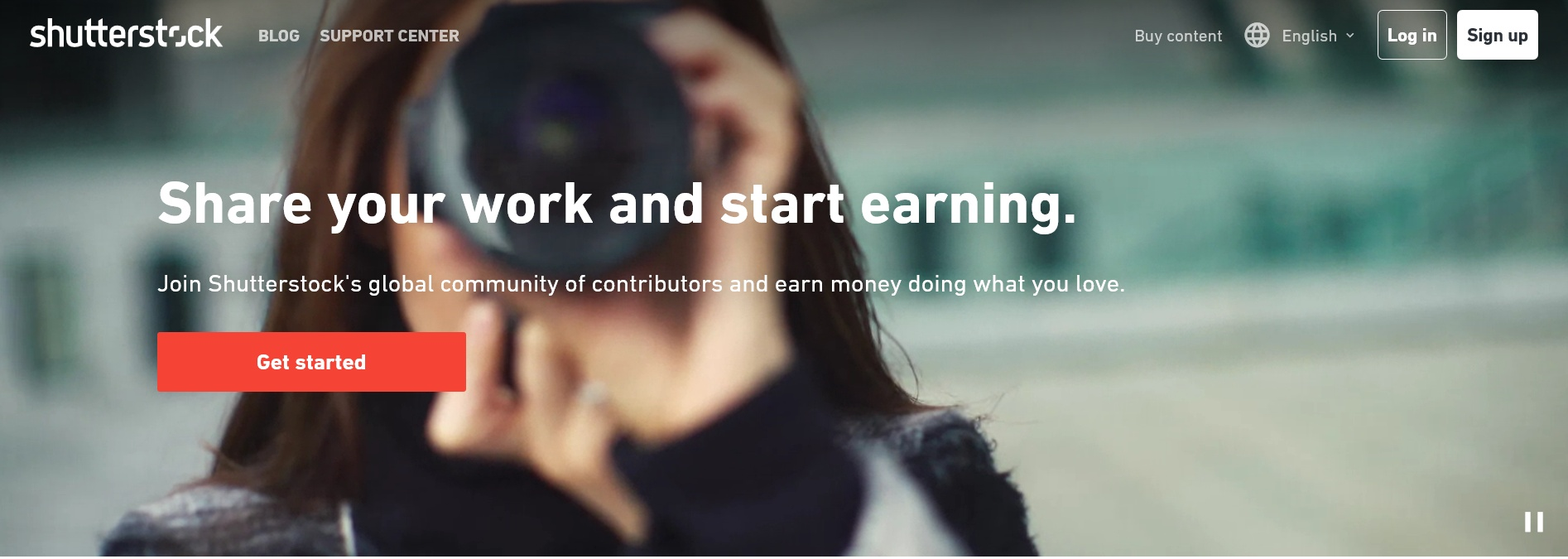 Earn quick money online by selling photos